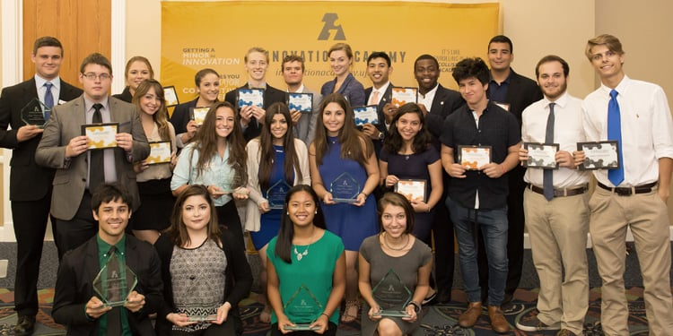 Innovation Academcy students receive awards